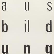<cite>Typographische Monatsblätter</cite> 1964 Issue 8/9