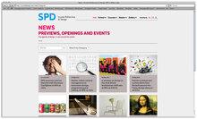 <i>Scuola Politecnica di Design</i> website