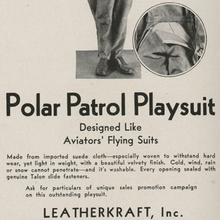 Polar Patrol Playsuit ad