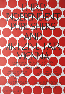 Third Independent Publishers and Artzine Fair Vienna poster