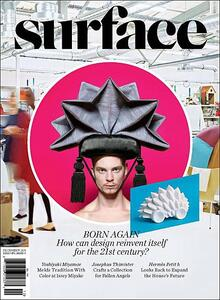 <cite>Surface</cite> Magazine Logo (2011)
