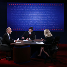 2012 US Presidential Debates Backdrop
