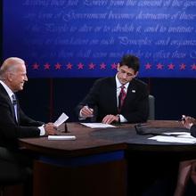 2012 US Presidential Debates Backdrop
