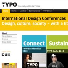 <cite>TYPO</cite> International Design Talks website