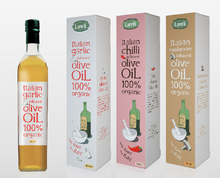 Larelli Olive Oils (alternate design)