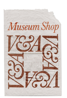 V&A Museum Shop bag