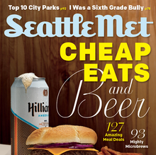 <cite>Seattle Met</cite>, July 2012