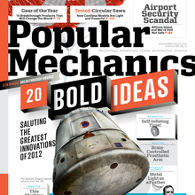 <cite>Popular Mechanics</cite> Nov, 2012