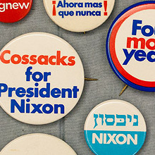 Richard Nixon 1972 Presidential Campaign Buttons