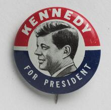 John F. Kennedy 1960 Presidential Campaign Buttons