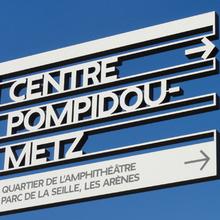 Centre Pompidou Metz signage system