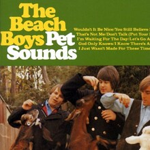 The Beach Boys <cite>Pet Sounds</cite> album cover