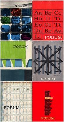 <cite>Architecture Forum</cite>, 1957–1961