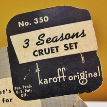 Karoff Originals #350 Labelling