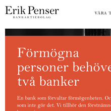 Erik Penser Bankaktiebolag