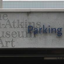 Nelson-Atkins Museum of Art Signage