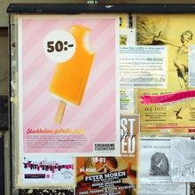 """""""Stockholms godaste glass"""" Campaign for Stockholms Stadsmission"""