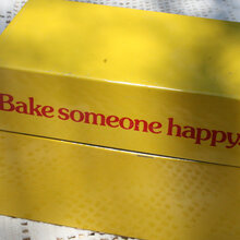 """Bake someone happy"" recipe box"