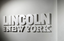 <cite>Lincoln and New York</cite> exhibition