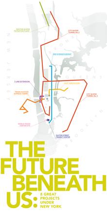 <cite>The Future Beneath Us</cite> exhibition and print materials