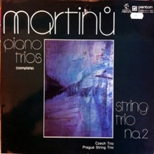 <cite>Piano Trios</cite> — Bohuslav Martinu