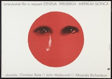 <cite>Empire of the Sun</cite> Polish Movie Poster
