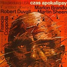 <cite>Apocalyse Now</cite> Polish Movie Poster