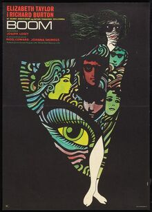 <cite>Boom</cite> Polish Movie Poster