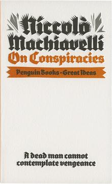 <cite>On Conspiracies</cite>, Penguin Great Ideas edition