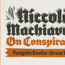 <cite>On Conspiracies</cite>, Penguin Great Ideas edition