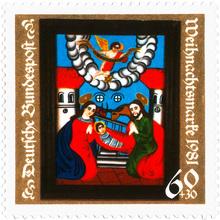 Weihnachtsmarke 1981
