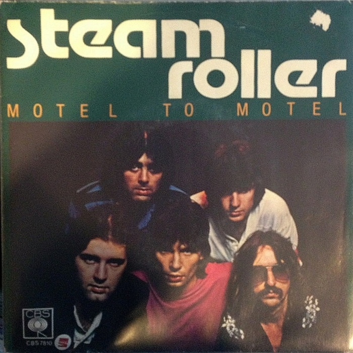 very groovy Steam Roller album cover