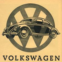 Volkswagen ad, c. 1955
