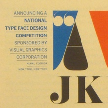 VGC Typeface Design Competition Announcement