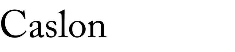 Caslon