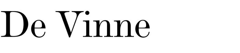De Vinne (Linotype)