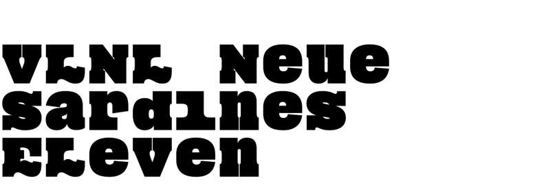 VLNL Neue Sardines Eleven