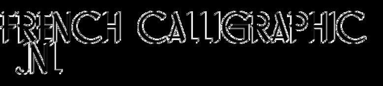 French Calligraphic JNL