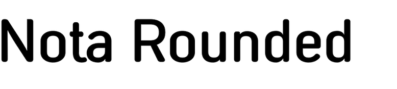 Nota Rounded