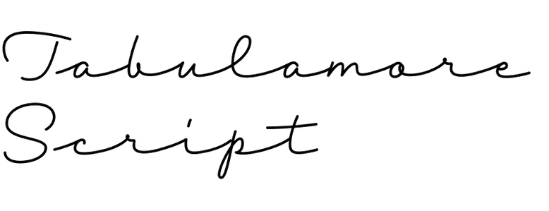 Tabulamore Script