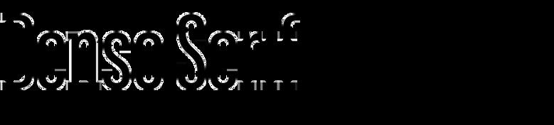 Denso Serif