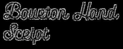 Bourton Hand Script