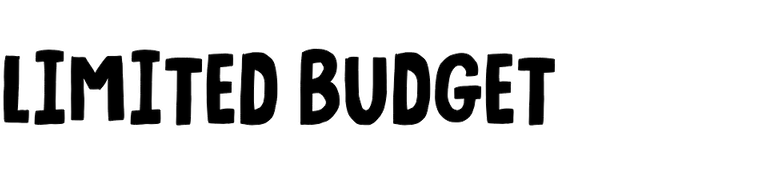 Limited Budget