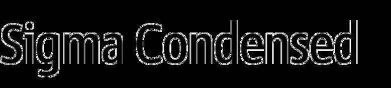 Sigma Condensed