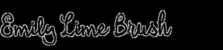 Emily Lime Brush