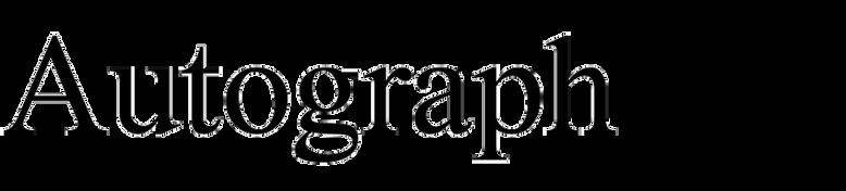 Autograph (Masterfont)