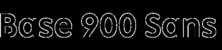 Base 900 Sans