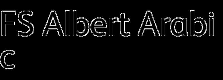 FS Albert Arabic