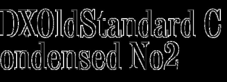 DXOldStandard Condensed No2