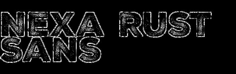 Nexa Rust Sans